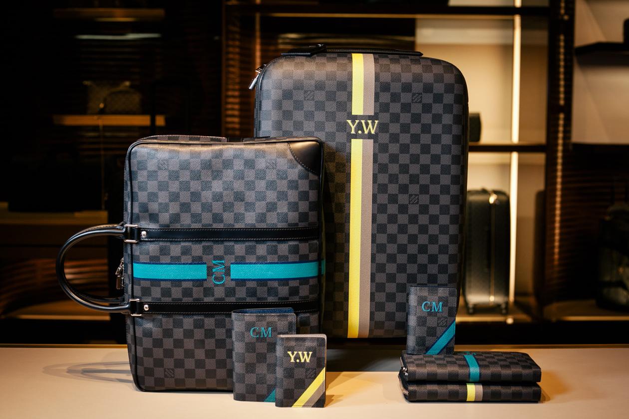 """Louis Vuitton Unveils """"Mon Damier Graphite"""" Personalization Tool"""