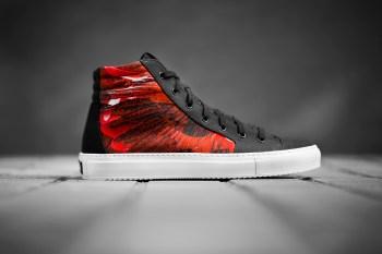Marcelo Burlon Alas High-Top Sneakers