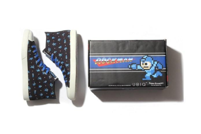 Mega Man x UBIQ 2015 High-Top Sneakers