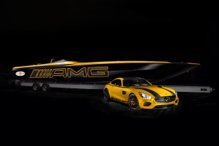Mercedes AMG GT-S-Inspired Marauder Boat by Cigarette Racing