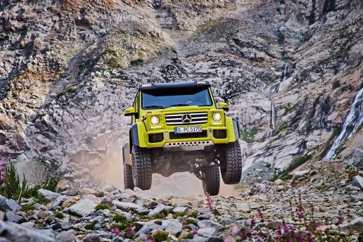 Mercedes-Benz Promo Video Shows Capabilities of G500 4x4²