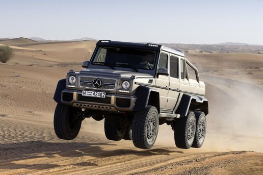 Mercedes G63 AMG 6x6 Reportedly Going Out of Production