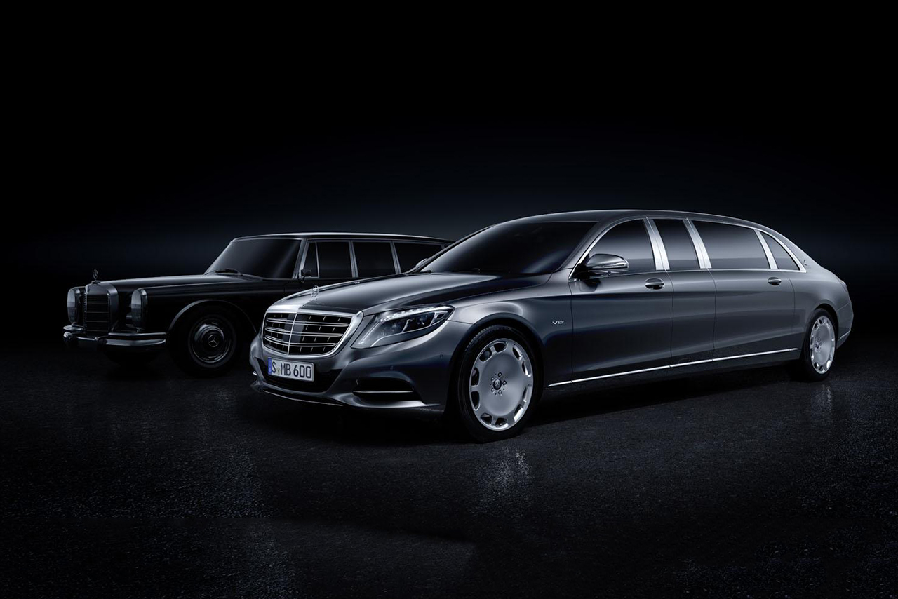A First Look at the Mercedes-Maybach Pullman