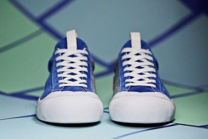 "mita sneakers x LOSERS Schoolers Low ""COBALT"" Preview"