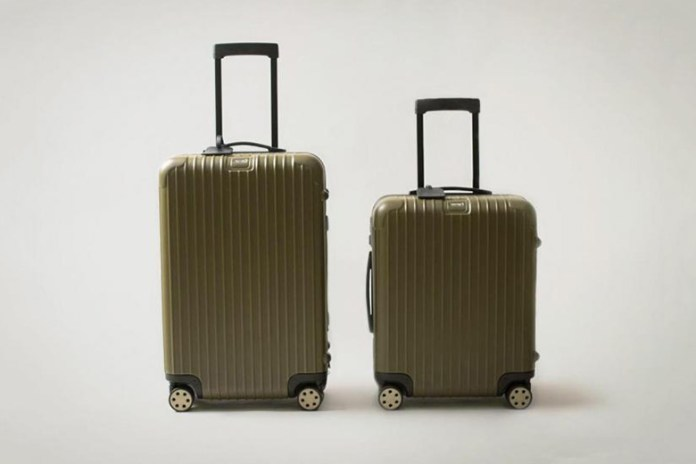 Monocle x Rimowa 2015 Multiwheel Collection