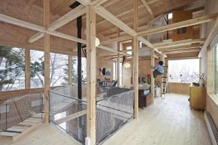 Nakanosawagawa Tree House by Ryo Yamada