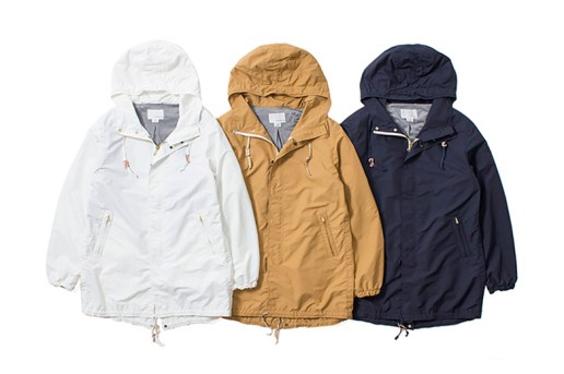 nanamica 2015 Spring Pier Coat & Jacket