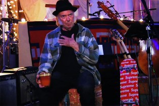 Neil Young for Supreme Video