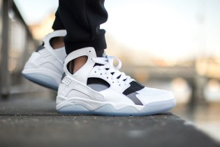 Nike Air Flight Huarache White/Cool Grey-Black