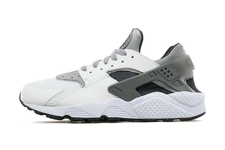 Nike Air Huarache White/Wolf Grey-Black