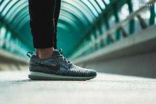Nike Roshe Flyknit Wolf Grey/Sequoia