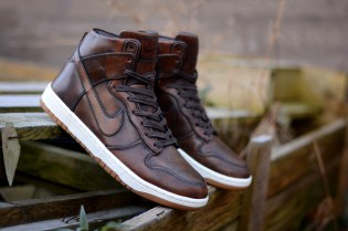 "Nike Dunk High SP ""Burnished Leather"""