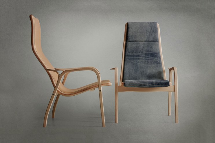 Nudie Jeans x Swedese Lamino Chair