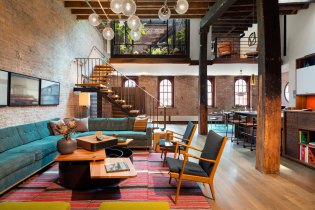 Old Tribeca Soap Factory Transformed into Beautiful Home by Architect Andrew Franz