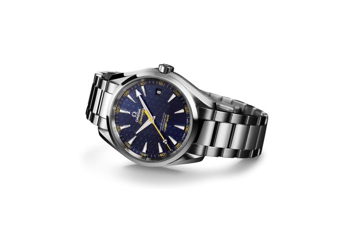 OMEGA Unveils its Seamaster Aqua Terra for James Bond in 'Spectre'