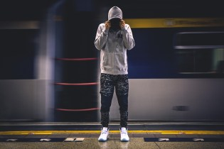 PHANTACi x Publish Reflective Tiger Shark Camo Jogger Pant