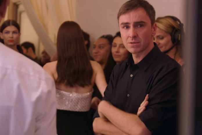 Raf Simons Stars in 'Dior and I' Documentary