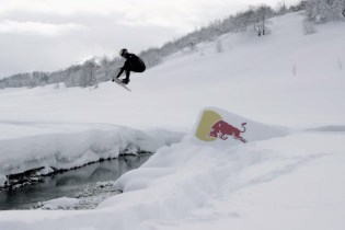 "Red Bull's ""Winter Wakeskate Wonderland"" featuring Brian Grubb"