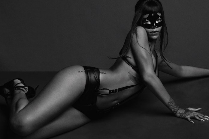 Rihanna for AnOther Magazine by Inez & Vinoodh