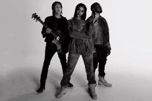"Rihanna, Kanye West & Paul McCartney ""FourFiveSeconds"" Music Video"