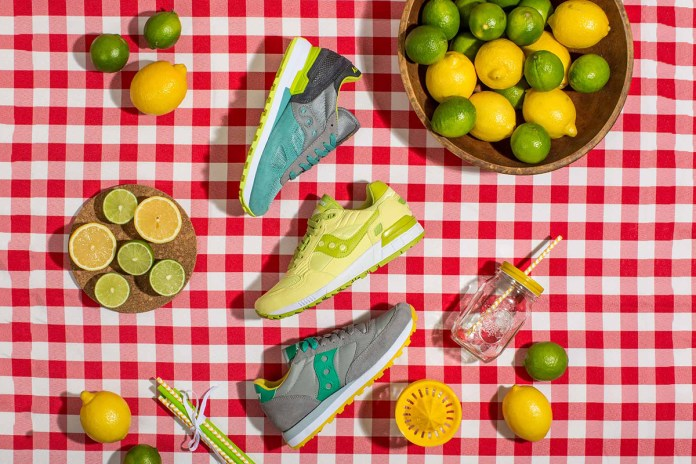 "Saucony Originals 2015 Spring ""The Main Squeeze"" Pack"