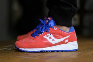 Saucony Shadow 5000 Red/Blue/White