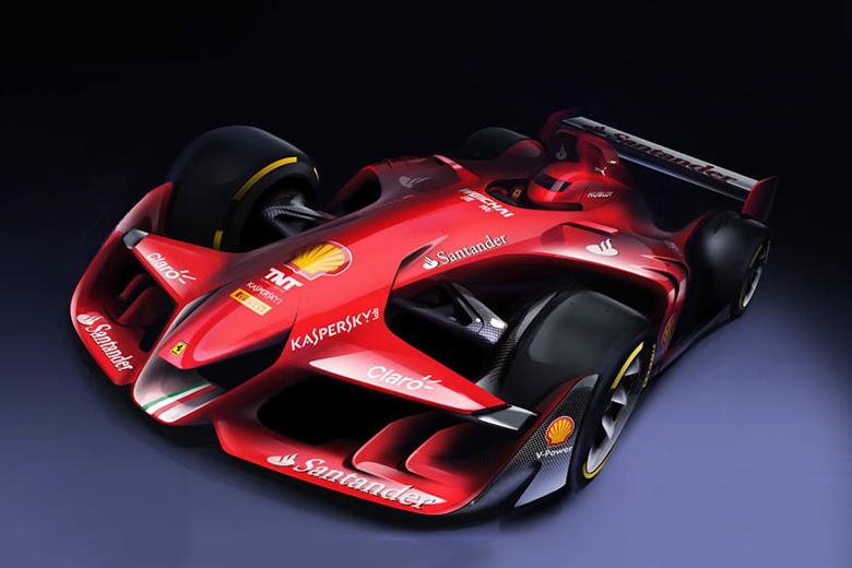 Ferrari Reimagines the F1 Car of the Future