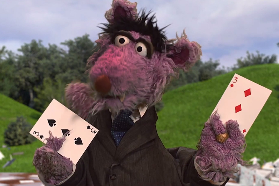 """Sesame Street's """"House of Bricks"""" is a Perfect House of Cards Parody"""