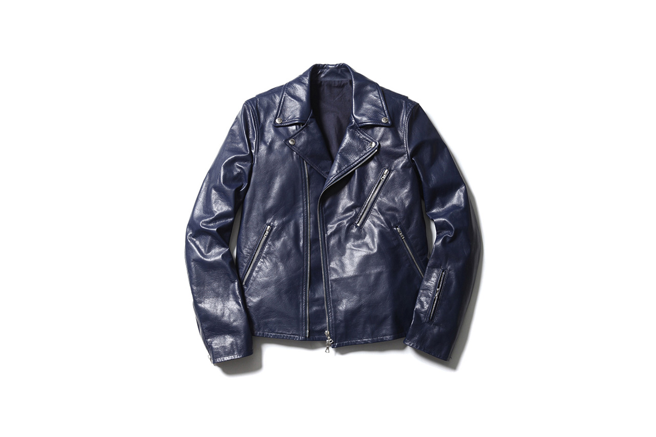 SOPHNET. Releases Two Slick Leather Riders Jackets