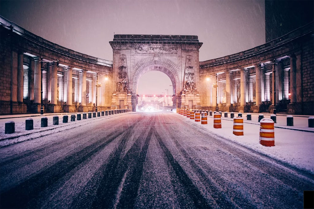 SSUR Presents WATCHxWITNESS Coverage of New York City's Recent Snowmageddon