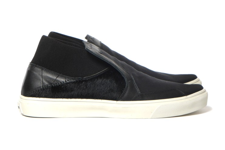 """Stone Island Shadow Project Step-on Slip-On 3_Canvas """"Leather/Pony Hair"""""""