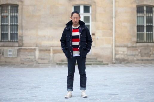 Streetsnaps: Masaya Kuroki of Maison Kitsuné