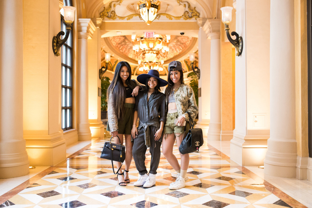 Streetsnaps: The Ladies of Fruition at Agenda Las Vegas