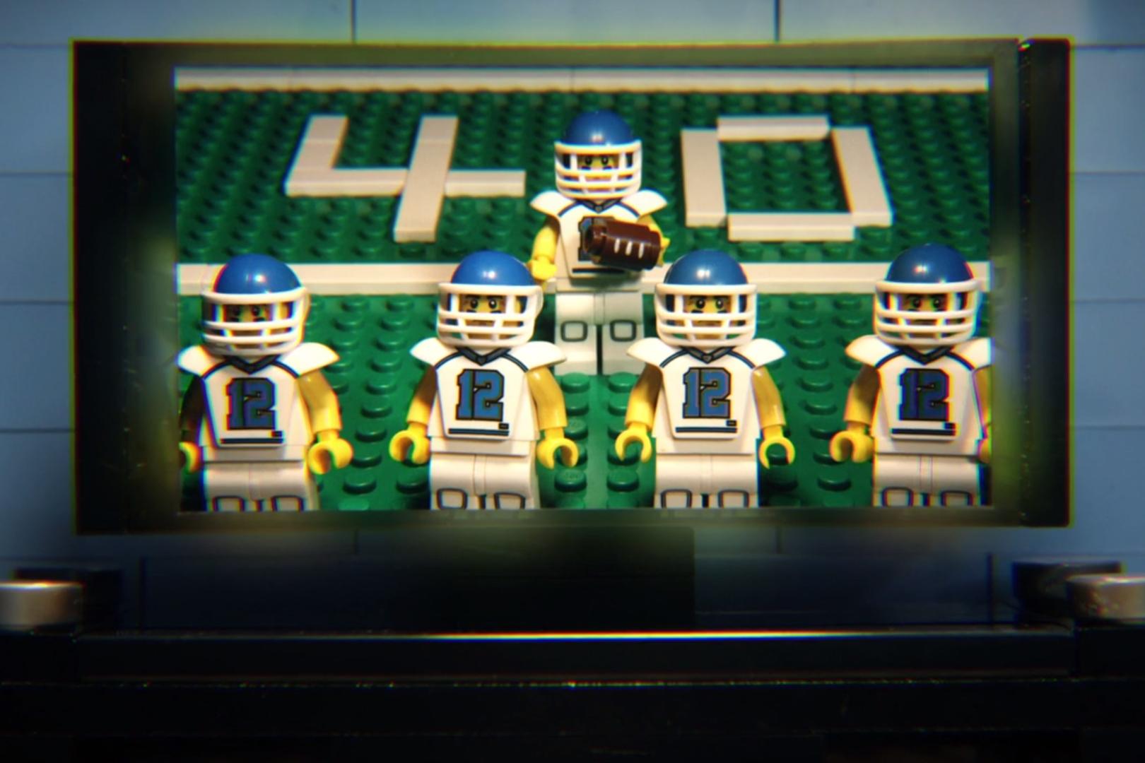 Super Bowl XLIX Commercials in LEGO