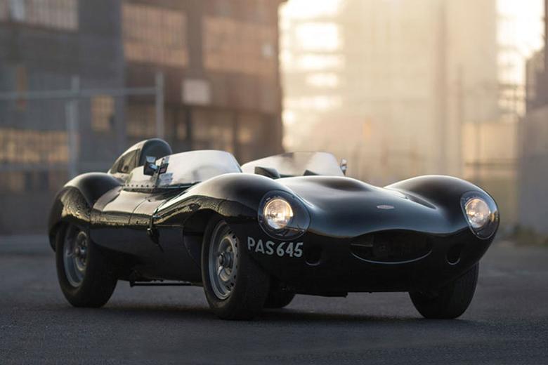 The $4 Million USD 1955 Jaguar D-Type