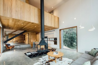 The Invermay House by Maloney Architects