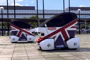 Transport Systems Catapult Unveils the UK's First Driverless Car