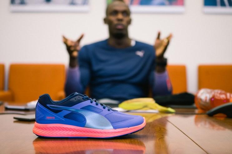 Usain Bolt Lends a Helping Hand to PUMA's Energy Return Ignite Running Shoe