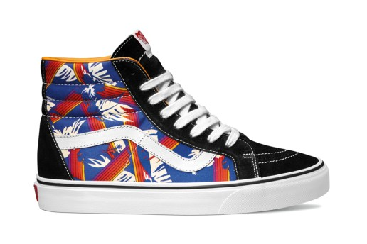 Vans Classics 2015 Spring Van Doren Collection featuring Hoffman Fabrics
