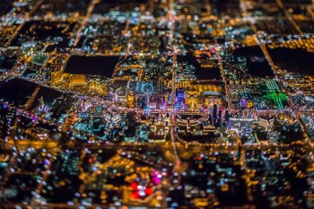 Vincent Laforet's Photos Makes Las Vegas Look Like a Motherboard