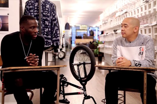 Watch 1-2-1 with jeffstaple featuring Nigel Sylvester