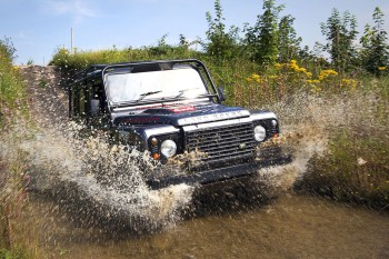 XCAR Takes the Land Rover Defender Off-Road