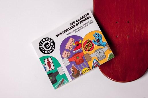 150 Classic Skateboard Stickers by Stickerbomb Skate