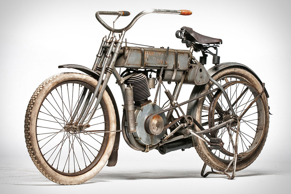 1907 Harley-Davidson Strap Tank Selling for an Estimated $1 Million USD