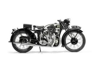 1939 Vincent HRD Series-A Rapide Motorcycle