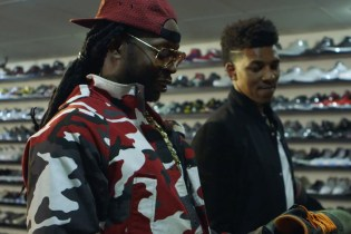 "2 Chainz & Nick ""Swaggy P"" Young Go Sneaker Shopping for 'Most Expensivest Shit'"