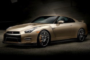 2016 Nissan GT-R Gold 45th Anniversary Edition