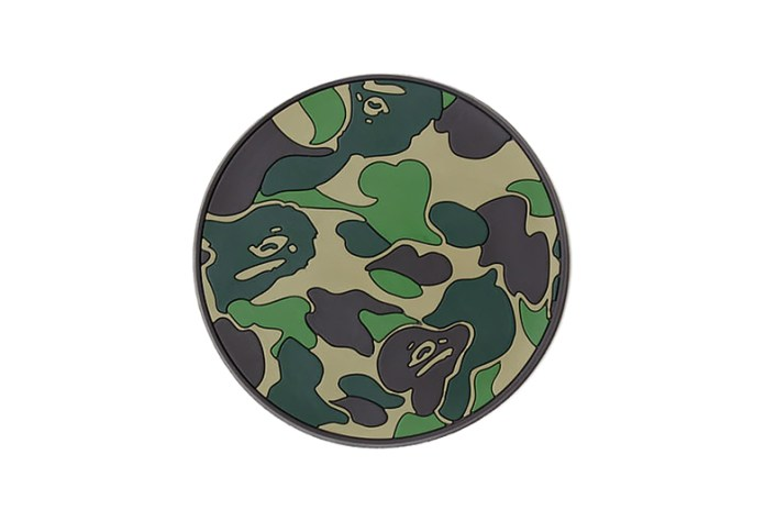 "A Bathing Ape ""ABC CAMO"" Rubber Coaster Set"