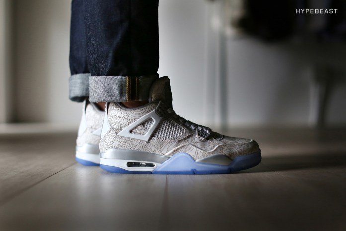 "A Closer Look at the Air Jordan 4 Retro ""Laser"""