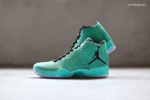 "A Closer Look at the Air Jordan XX9 ""Light Green Spark"""